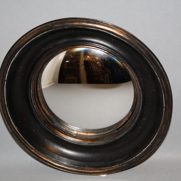 Miroir dit oeil de sorci re rond style napol on iii diam 22 cm brocante - Miroir oeil de sorciere ...